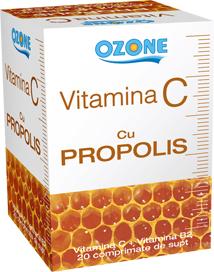 Vitamina C cu propolis Ozone