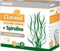 Clarinol+Spirulina X 30+30 tablete