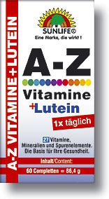 Sunlife A-Z Vitamine+Luteina