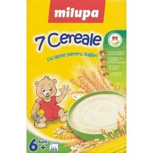 Milupa 7 cereale cu lapte x 250 g,Nutricia