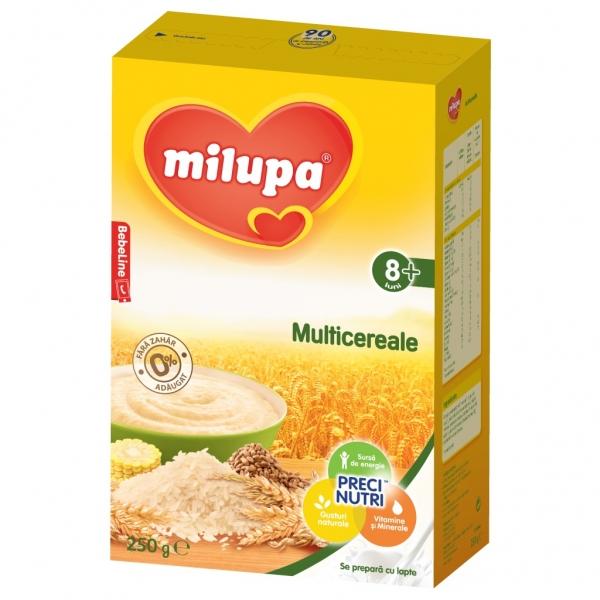 Milupa Multicereale fara lapte x 250 gr