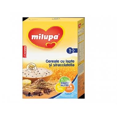 Milupa Cereale cu lapte si straciatella x 250 gr