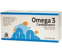 Omega 3 Cardioprotect ulei de peste x 60 cps