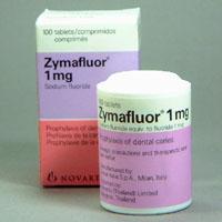Zymafluor 1 mg Novartis 250 cp