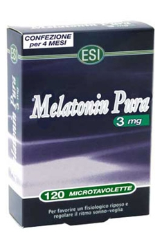 Melatonina Pura 3mg 120 Tablete