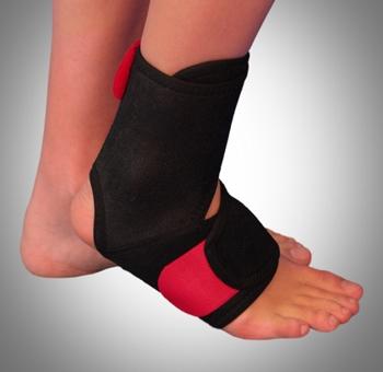 Orteza de glezna picior mobila cu inchidere anterioara