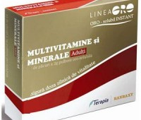 Terapia Multivitamine si Minerale Adulti