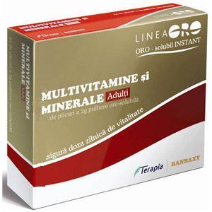 Terapia Multivitamine si Minerale Adulti