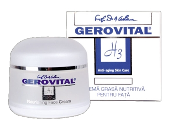 Gerovital H3 Anti-Aging crema grasa