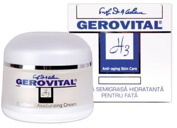 Gerovital H3 Anti-Aging crema semigrasa