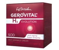 Gerovital H3 Evolution Crema Antirid FP 15