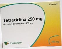 Tetraciclina 250 mg