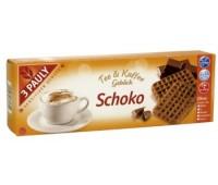Biscuitei pentru ceai sau cafea, cu ciocolata, fara gluten si lactoza