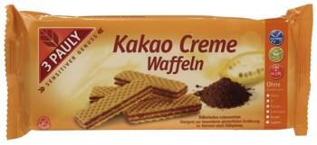 Napolitane cu crema de cacao, fara gluten si lactoza