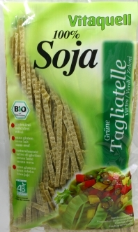 Tagliatelle Verde Organice (Bio) de Soia