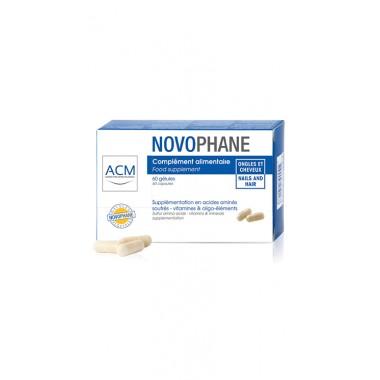 Novophane 60 capsule pentru par si unghii