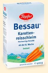 Topfer Cereale Bessau cu orez si morcovi 400g