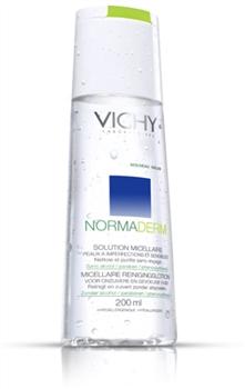 Vichy Normaderm solutie de curatare ten cu probleme