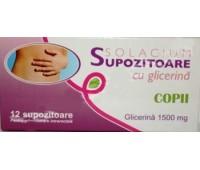 Supozitoare cu glicerina copii 1500mg