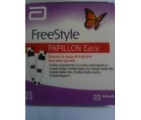Teste glucometru Freestyle Papillon Easy Test x 100