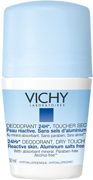 Vichy Roll-on Antiperspirant Eficacitate 24H