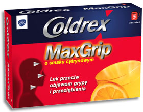 Coldrex MaxGrip Lemon X 5 plicuri