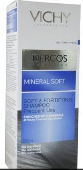 Vichy Dercos Sampon Fortifiant Mineral Delicat