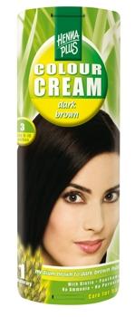 Henna Plus Colour Cream Dark Brown 3
