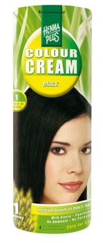 Henna Plus Colour Cream Black 1