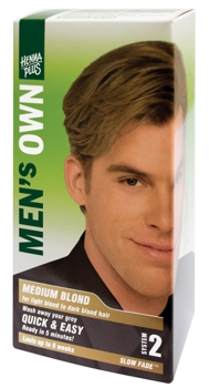 Henna Plus Men's Own Medium Blond vopsea pentru barbati
