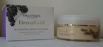 Eternal Gold Masca cremoasa de reintinerire cu aur
