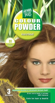 Henna Plus Colour Powder Hazelnut 51