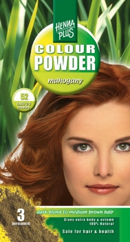 Henna Plus Colour Powder Mahogany 52