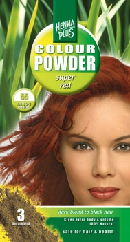 Henna Plus Colour Powder Super red 55