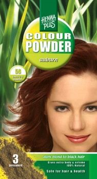 Henna Plus Colour Powder Auburn 56