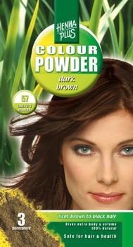 Henna Plus Colour Powder Dark brown 57