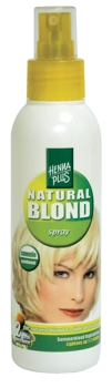 Henna Plus Spray pentru parul blond cu musetel