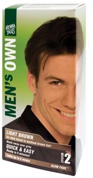 Henna Plus Mens Own Light Brown vopsea pentru barbati