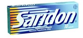 Saridon X 10 TB