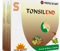 Tonsilend cu Aroma de Miere si Lamaie