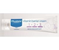 Mustela Vitamin Barrier Cream 50 ml