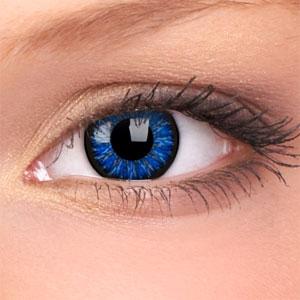 Lentile Glamour Blue