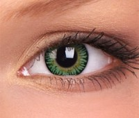 Lentile de contact 3 Tones Green