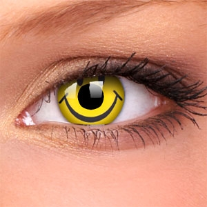 Lentile Crazy Lens Smiley