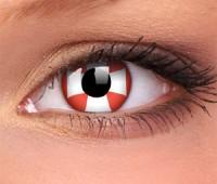 Lentile Crazy Lens Red Cross