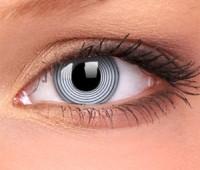 Lentile Crazy Lens Black Spiral