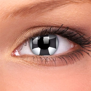 Lentile Crazy Lens Black Cross