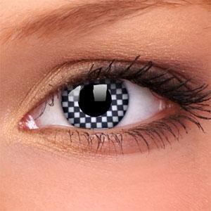 Lentile Crazy Lens Chequered