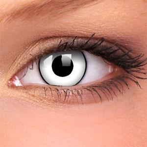 Lentile Crazy Lens White Zombie