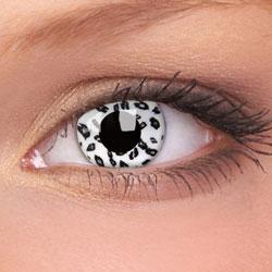 Lentile de contact Crazy Lens White Leopard